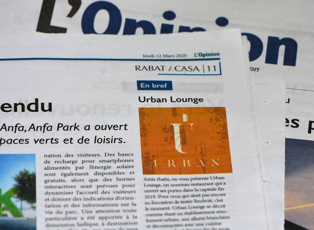 Urban Lounge Restaurant se prépare au Ramadan